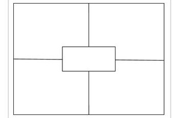 Four Square blank Four Square Writing Graphic