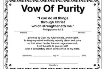 FREE Printable Purity Certificates Purity Ring True