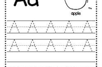 Free Alphabet Tracing Worksheets Alphabet Tracing