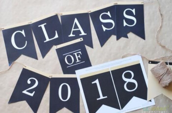 Free Class Of 2018 Graduation Party Printables