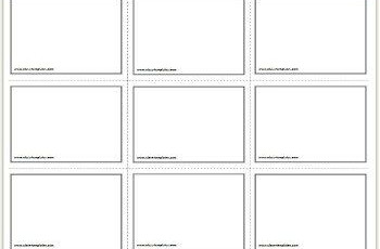 Free Printable Flash Cards Template Flash Card Template