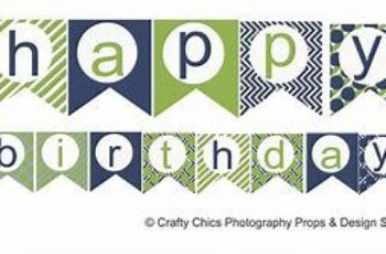 Image Result For Printable Free Birthday Banner For A Man