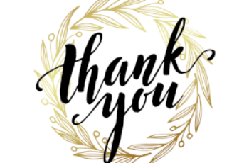 A Round Of Thanks Thank You Card Template Free Thank
