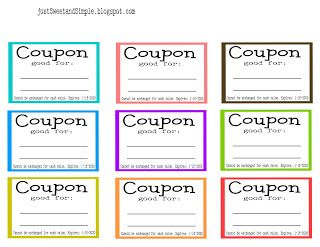 Chore Coupons Are Not Just For Mom And Dad Make A