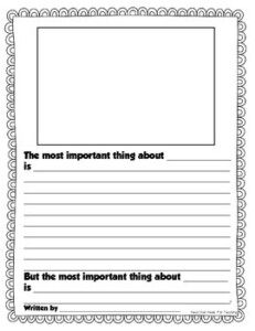 Important Book Template By Joanne Miller Teachers Pay