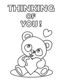 Free Printable Thinking Of You Cards Create And Print